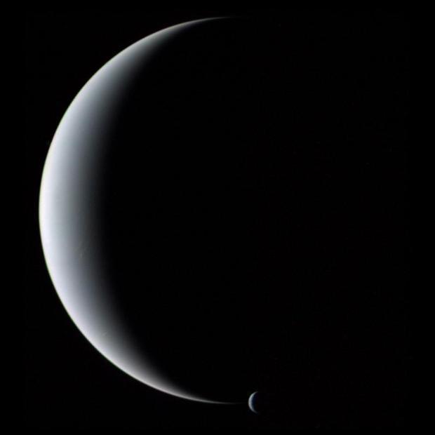Neptune & Triton (Moon)